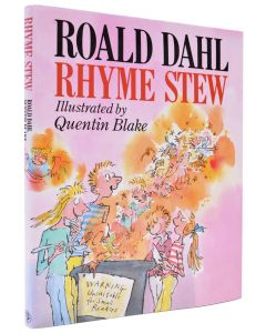 Roald Dahl, Rhyme Stew, first edition, signed bookplate - 1