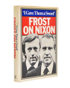 FROST, David; NIXON, Richard (37th President of the United States); WILSON, Harold (Lord Wilson of Rievaulx, former Prime Minister of Great Britain).