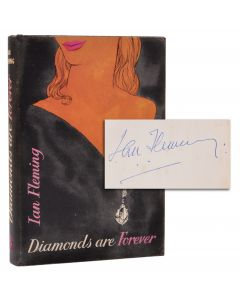 Ian Fleming, Diamonds are Forever, signed first edition - 1