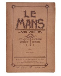 Le Mans and vicinIty 1918 - 1