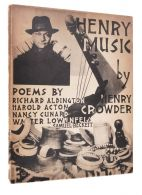 CROWDER, Henry; MAN RAY (designer).