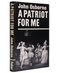 John Osborne, A Patriot for Me, first edition, 1966 - 1