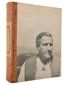 Gertrude Stein, Portraits and Prayers, signed first edition, 1934 - 1