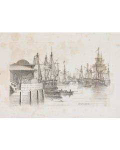 Henry Moses, Sketches of Shipping, 1825 - 1