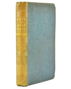 Charles Bunbury, Residence at the Cape, London 1848, first edition - 1