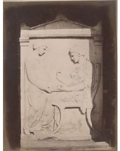 [Photographer unknown]. [Tomb of Hegeso].