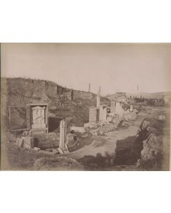 [Photographer unknown]. [Cemetery of Cerameicus].