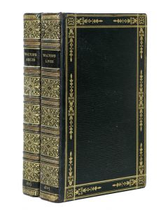 Complete Angler by Izaak Walton & Charles Cotton, first John Major editions - 1
