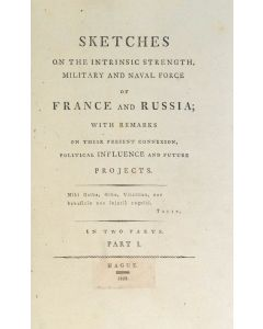 napoelonic wars, sketches on the intrinsic strength, military 1803 - 1