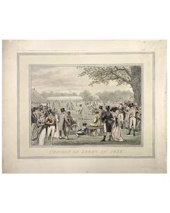 Anon. Cricket at Lord's in 1822.