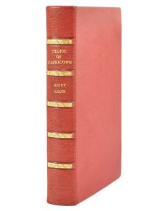 Henry Miller, Tropic of Capricorn, first edition, full morocco - 1
