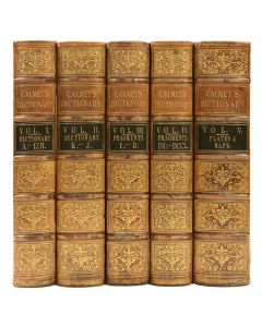Dictionary of the Holy Bible by A. CAlmet, 5 vols, London, 1838 - 1