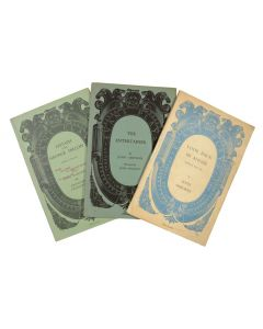 Three Acting Editions of the Early Plays of John Osborne, 1957-59 - 1