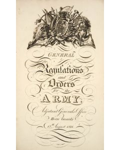 General regulations, and orders for the Army. London, 1811. - 1