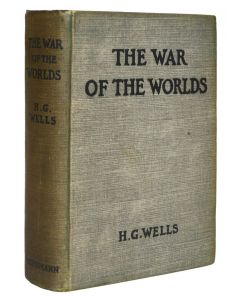 H G Wells, The War of the Worlds, first edition, 1898 - 1