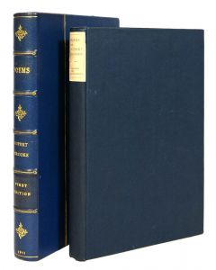 Rupert Brooke Poems first edition, 1911, one of 500 copies - 1