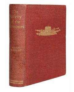 Allan McAulay, Safety of the Honours, first edition, signed by Queen Mary - 1