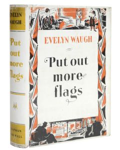 Evelyn Waugh, Put Out More Flags, first edition, dust jacket, 1942 - 1