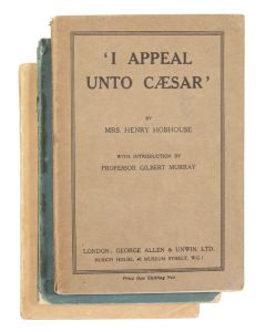 Bertrand Russell, 3 works in printed wrappers, National Labour Press, 1915 - 1