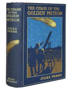 Jules Verne, Chase of the Golden Meteor, first English edition, 1909 - 1