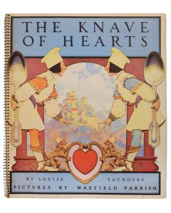 Maxfield Parrish & Louise Saunders, Knave of Hearts, spiral-bound edition - 1