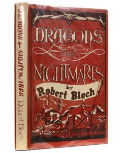 Robert Bloch, Dragons and Nightmare, sgined first edition - 1