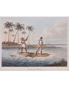 Koster, travels in Brazil, hand coloured plates, first edition, 1816. - 1