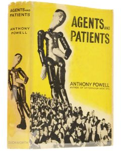 Anthony Powell, Agents adn Patients, signed first edition - 1