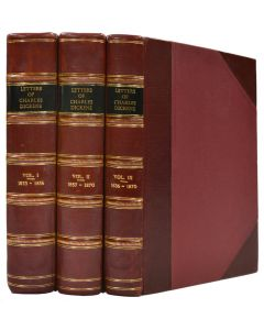 Letters of Charles Dickens, first & second editions, 1880-82 - 1