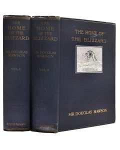 Mawson, home of the blizzard, 1915, first edition - 1