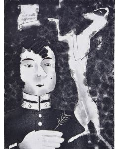 gogol, alexandre alexeieff, diary of a madman, illustrated by alexeieff - 1