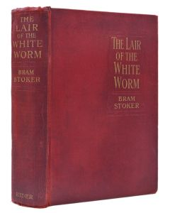 Bram Stoker, Lair of the White Worm, first edition, 1911 - 1