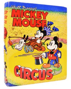 Walt Disney, Mickey Mouse Circus, first edition, dust jacket, 1936 - 1