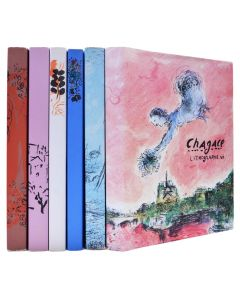 chagall, lithographes, complete set, 1960-1986 - 1
