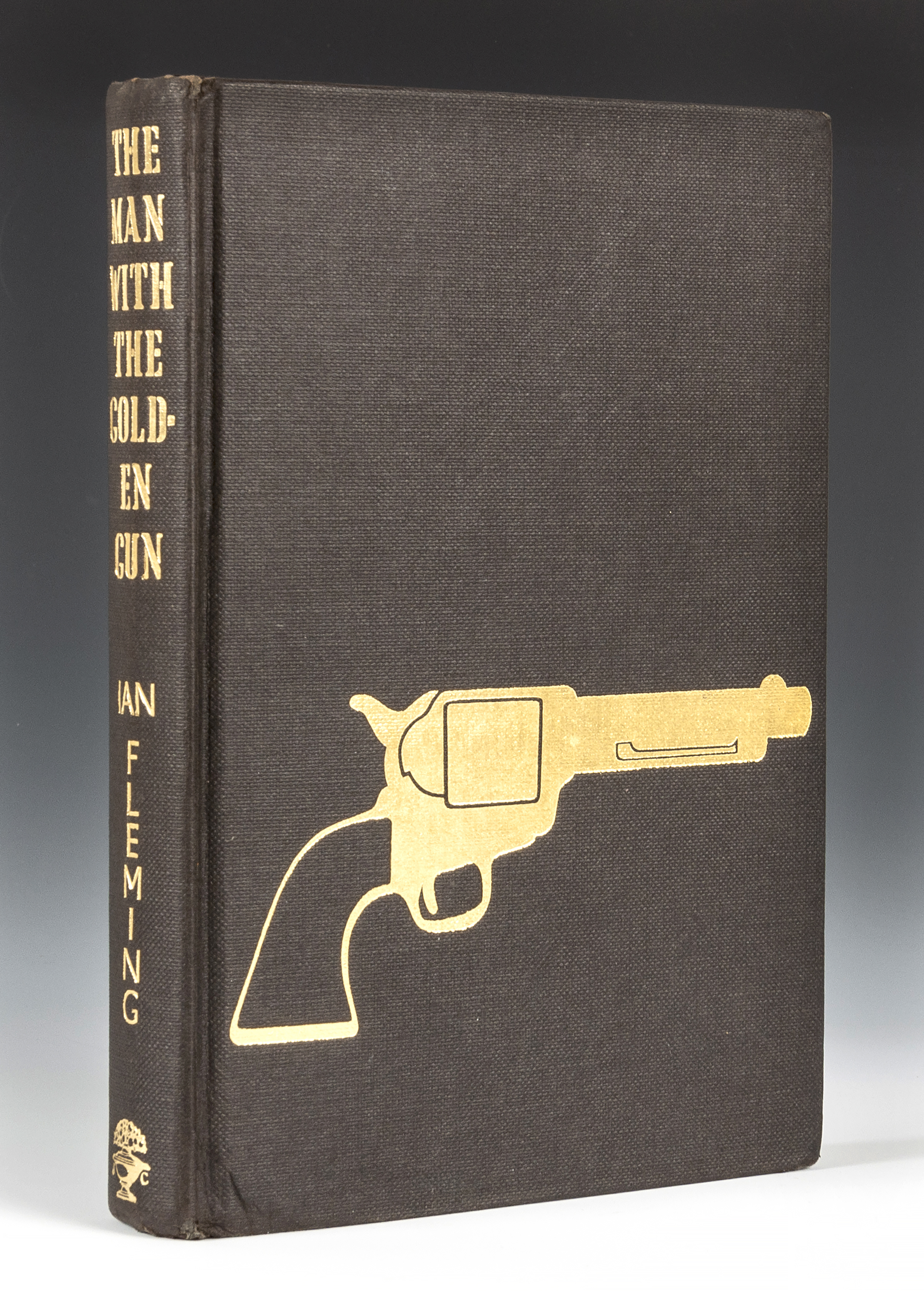 James Bond first editions > The Man with the Golden Gun, first state boards
